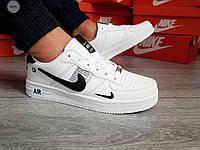 Мужские кроссовки Nike Air Force 19 Low White/Black