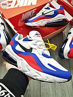 Мужские кроссовки Nike Air Mаx 270 Reаct Blue/White/Red