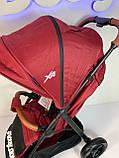 Прогулочная коляска El Camino X4 ME 1024, Deep Red, фото 4