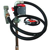 Насос для перекачки и заправки (раздачи) дизельного топлива из бочки или бака PTP 12В, 40 л/мин