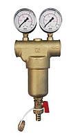 """Фильтр самопромывной 100мкм для горячей воды и системы отопления 1/2"""" Malgorani (Италия)"""