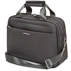 Універсальна дорожня сіра сумка-бьютик BagHouse з кріпленням на ручку валізи 38х29х15 ксГЦ868сер, фото 3