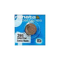 Часовая батарейка Renata 395 / SR 927 SW / AG7 (1шт.)