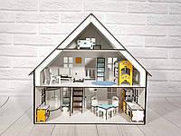 Баварский домик для кукол с мебелью и текстилем, фото 1