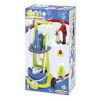 Ігровий набір-Візок для прибирання з пилососом Ecoiffier 8 аксесуарів (001769), фото 1
