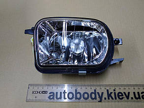 Левая фара противотуманная Мерседес 209 02-09 (C209-CLK)прозрачн. без лампы / MERCEDES CLK W209 (2002-2009)