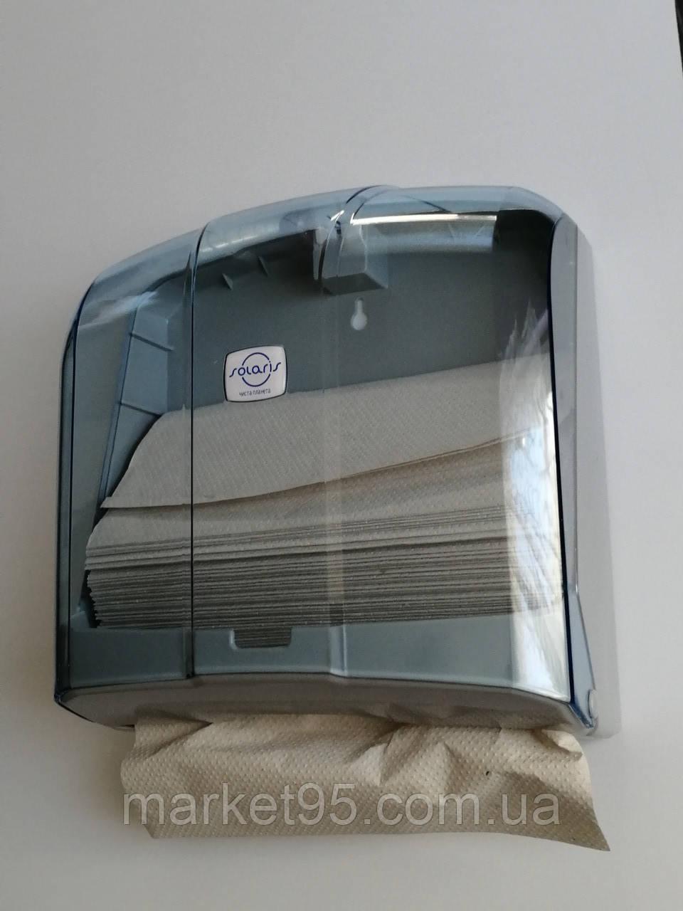 Раздатчик листовых бумажных полотенец Z и V