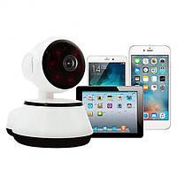 IP-камера Видеонаблюдения Q6XM Smart WiFi поворотная Camera 360 °. Видеоняня