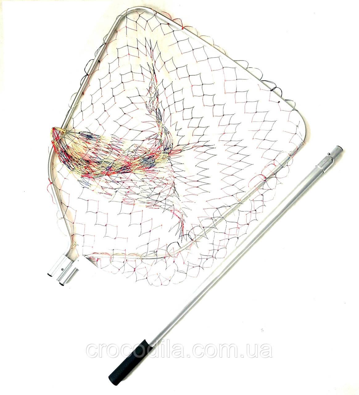 Подсак карповый Shark с кордовой сеткой 69*71 см голова