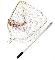 Подсак карповый Shark с кордовой сеткой 69*71 см голова, фото 1