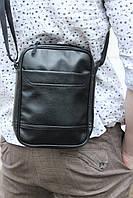 Мужская сумка через плечо на 4 отделения / Качественная мессенджер / Сумка чоловіча ТОП продаж / 4 кишені