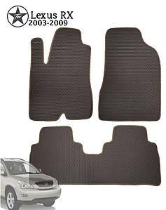 Коврики EVA в салон Lexus RX 2003-2008. Star-Tex.