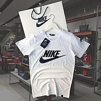 Стильная футболка мужская в стиле Nike. Стильная мужская футболка найк черного, синего, белого, красного цвет