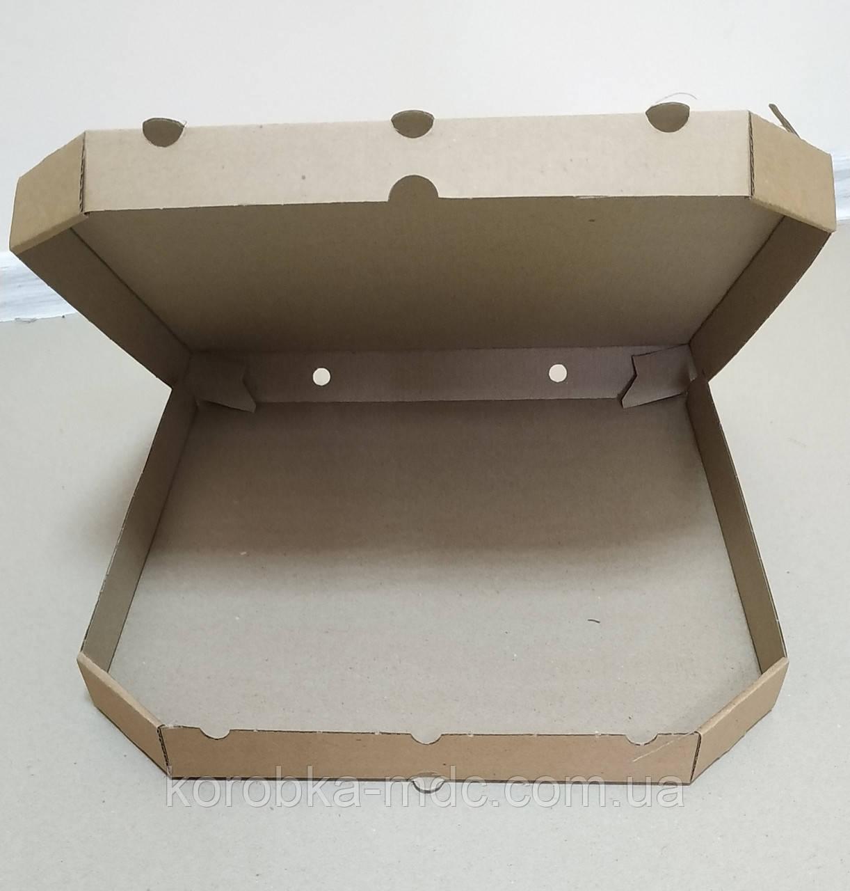 Pizza 300x300x35 Бурая
