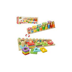 Деревянная игрушка Геометрика, фото 2