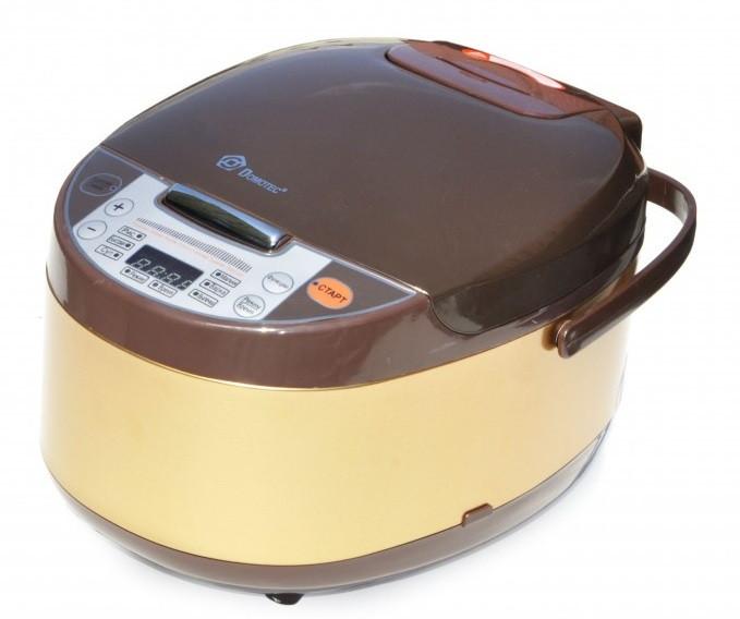 Мультиварка Domotec MS 7723G 5 л, 11 режимов приготовления, коричневая