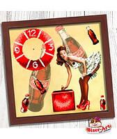 "Часы для вышивки бисером  Бисер-Арт ""Пін ап"" (014)"