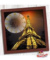 """Часы для вышивки бисером  Бисер-Арт """"Вечірній Париж"""" (013)"""