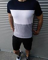 Мужская футболка и шорты. Летний комплект.