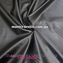 Стрейчевая кожа (эко-кожа) черная