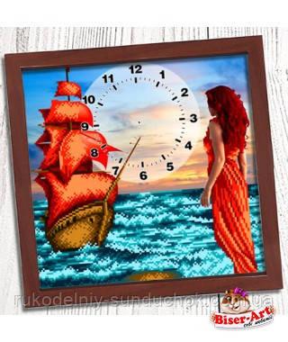 """Годинник для вишивки бісером, Бісер-Арт """"Ассоль"""" (008)"""