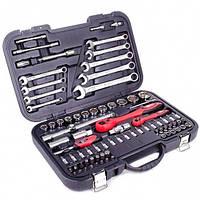 Профессиональный набор инструментов 1-2 дюйма и 1-4 дюйма; 82 ед INTERTOOL ET-6082