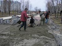 Укладка тротуарной плитки ФЭМ Киев и область, фото 1