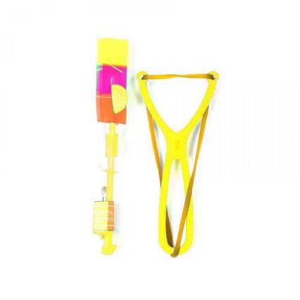 Рогатка со светящейся стрелой (желтая) F22324