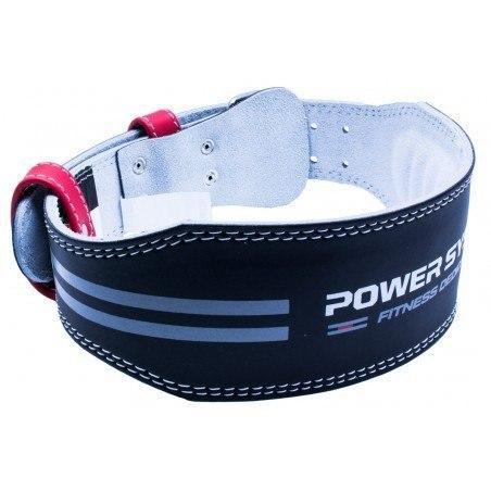Пояс для тяжелой атлетики Power System Dedication PS-3260 Black/Red S черный с красным