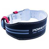 Пояс для тяжелой атлетики Power System Dedication PS-3260 Black/Red S черный с красным, фото 1