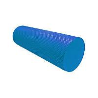 Массажный ролик для фитнеса и аэробики Power System Fitness Roller PS-4074 Blue (45*15) синий