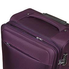 Чемодан BagHouse средний фиолетовый 41х67х27(+3) с расширением   ксГЦ868фср, фото 3