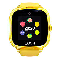 Смарт-годинник дитячий Elari KidPhone Fresh Yellow (з можливістю здійснення дзвінків)