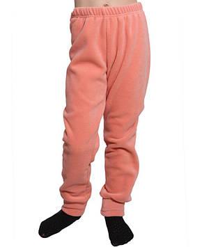 Флісові штани для дівчинки (розміри 116-158 в кольорах)