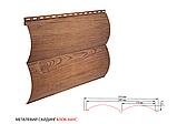 Металлосайдинг Блок-хауc | Орех | 0,4 мм | Китай |, фото 5
