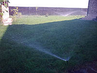 Продувка полива газонов