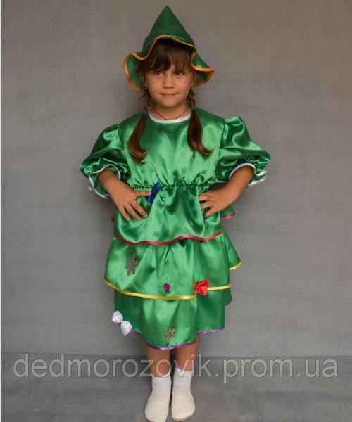 Ёлочка. Детский карнавальный костюм (девочка)