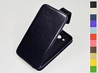 Откидной чехол из натуральной кожи для Huawei Y5 Lite 2017