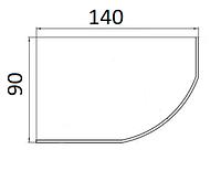 Ванни асиметричні Kolo 140х90