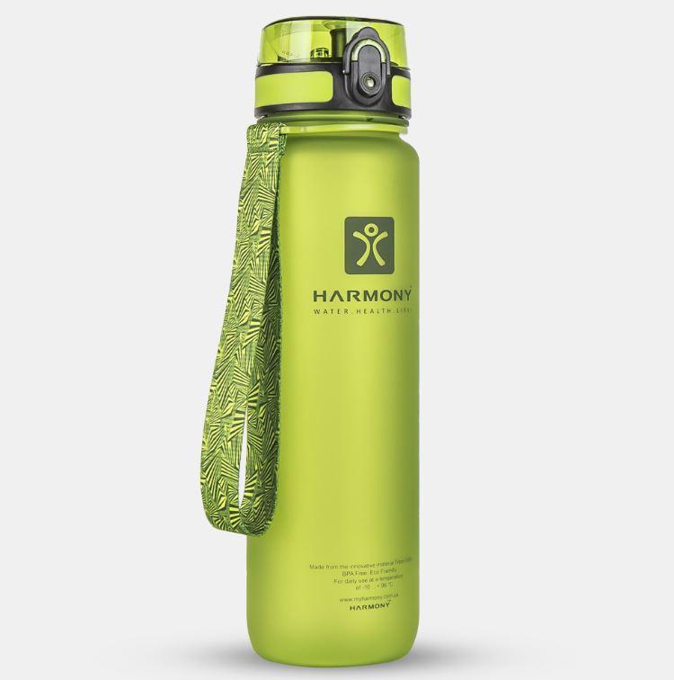 Бутылка для воды Harmony 1 л, зеленая