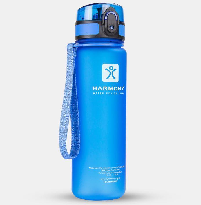 Бутылка для воды Harmony 500 мл, голубая