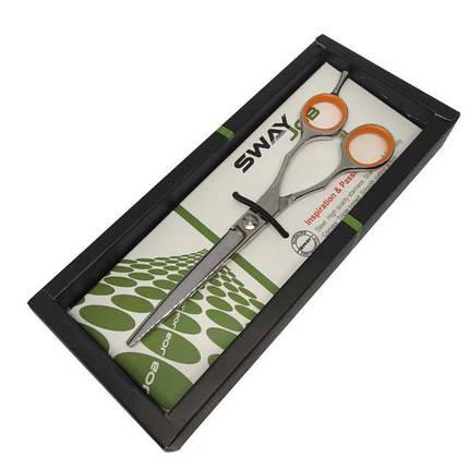 """Ножиці перукарські професійні прямі SWAY JOB 110 50160 (6""""), фото 2"""