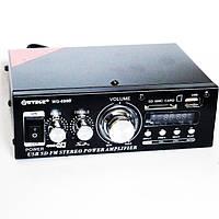 Усилитель звука WVNGR WG-699BT USB Bluetooth 300W+300W Black