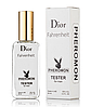 Мужской мини-парфюм Christian Dior Fahrenheit (Кристиан Диор Фаренгейт) с феромонами 65 мл