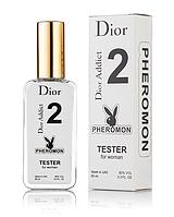Женская туалетная вода Christian Dior Addict 2 с феромонами (Диор Аддикт 2) тестер 65 мл