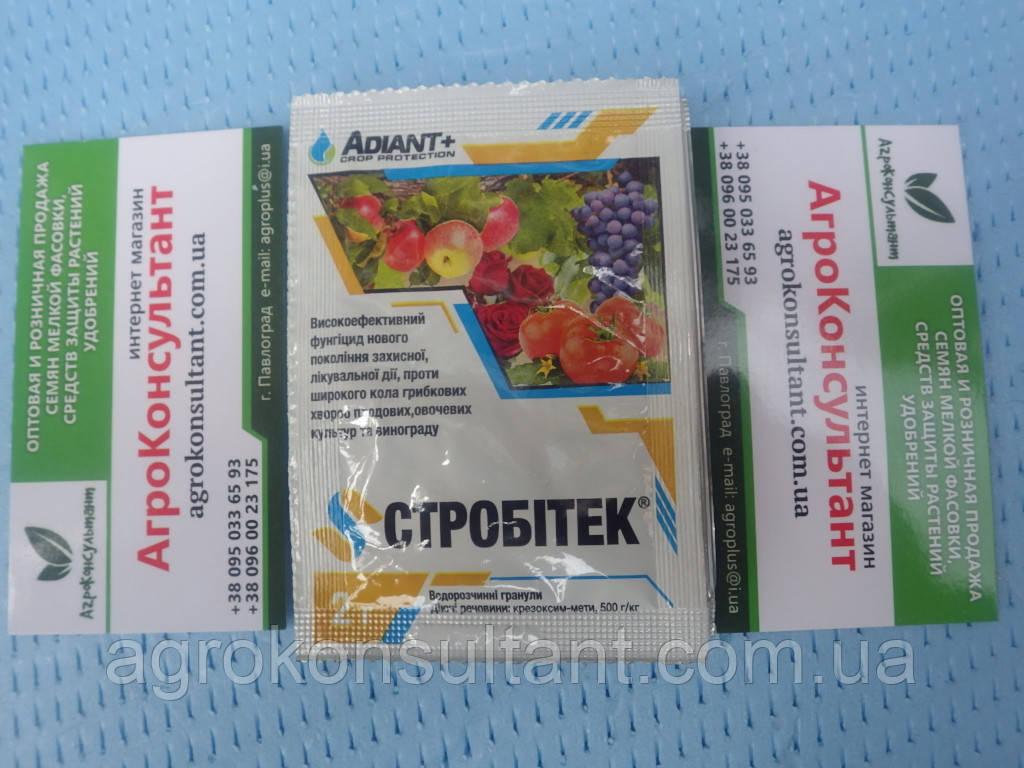 Стробитек (Adiant+), 2 р - фунгіцид проти широкого спектру хвороб овочевих, плодових та виноградних культур