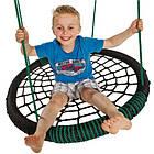 Гойдалка дитяча підвісна «Овал» подвійна KBT Бельгія для дітей, фото 3