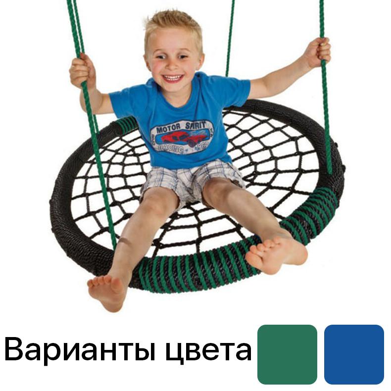 Гойдалка дитяча підвісна «Овал» подвійна KBT Бельгія для дітей