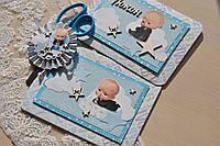 Набір Ножиці і конверт для локона на рік у стилі Бос Молокосос (Baby Boss)