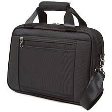 Дорожная универсальная сумка-бьютик GLQ с креплением на ручку чемодана 38х29х15 чёрный цвет   ксГЦ868ч, фото 3